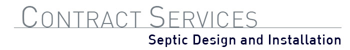 Septic Design and Install